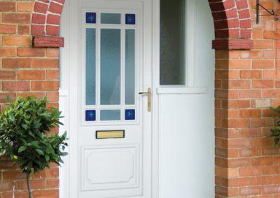 PVC-door